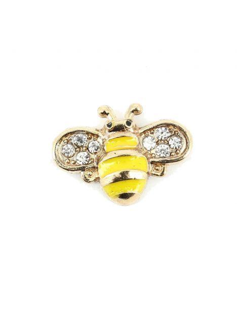 Boutonnière abeille jaune Tony & Paul Boutonnières