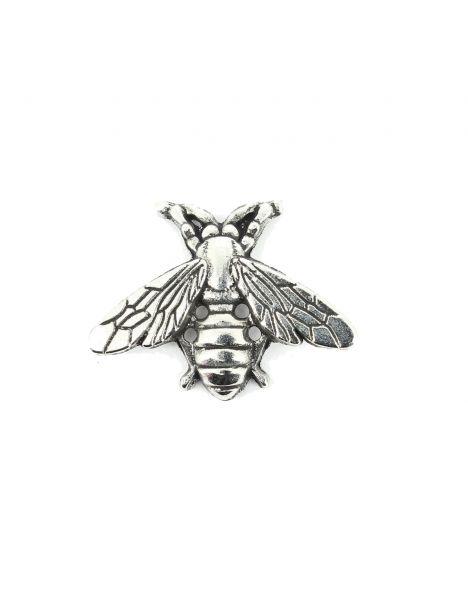 Boutonnière abeille argentée Tony & Paul Boutonnières