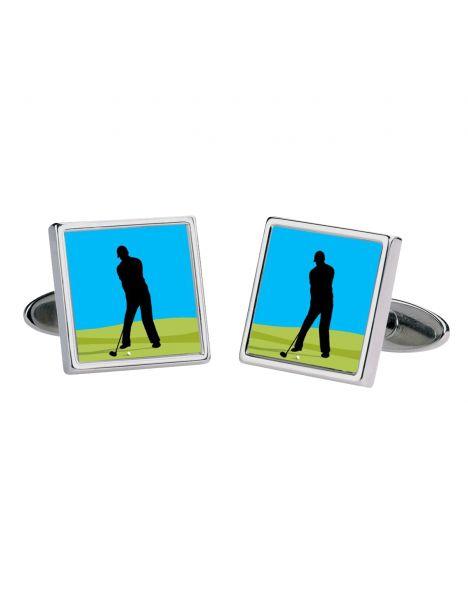 Boutons de manchette, Golfer, Moving image