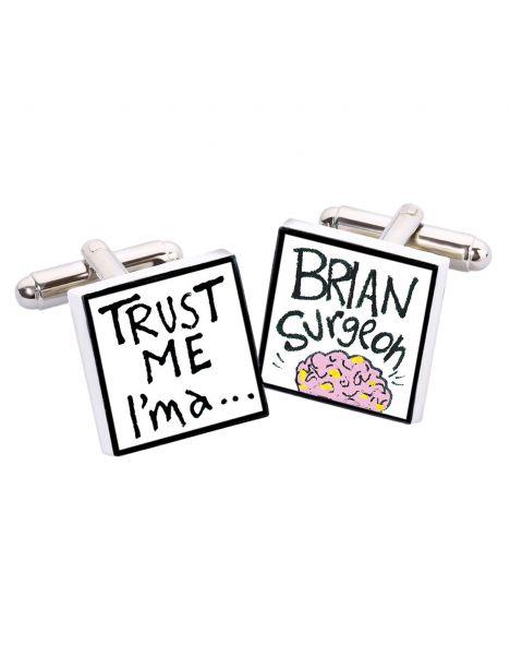 Boutons de manchette, Trust me I'm a Brian, Bone China