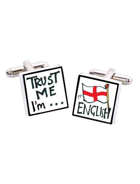 Boutons de manchette, Trust me I'm English, Bone China