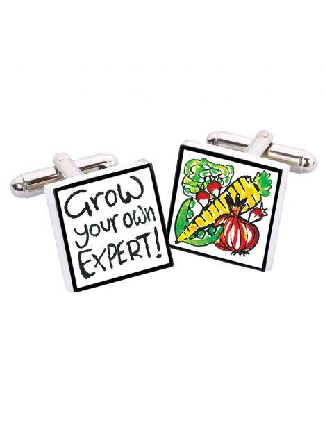 Boutons de manchette, Grow your own expert, Bone China