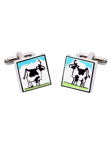 Boutons de manchette, Cow, Vache