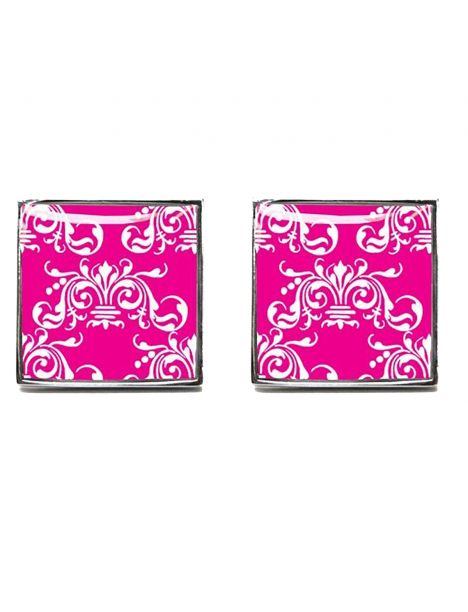 Boutons de manchette, Clarence, Bright Pink