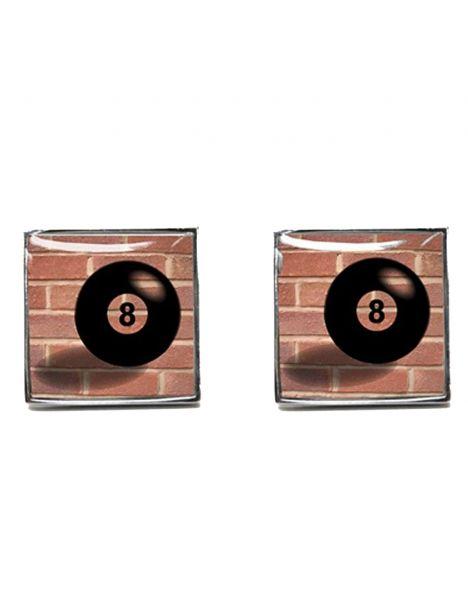 Boutons de manchette, Lucky N8, Red Brick Tyler & Tyler Bouton de manchette
