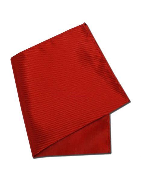 Pochette rouge Richelieu Vermillon Clj Charles Le Jeune Pochettes