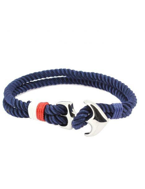 Bracelet ancre nautique, navy Clj Charles Le Jeune Bracelets Homme