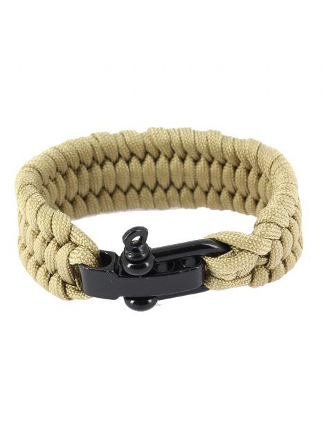 Bracelet paracorde manille, Sahara Clj Charles Le Jeune Bracelets Homme