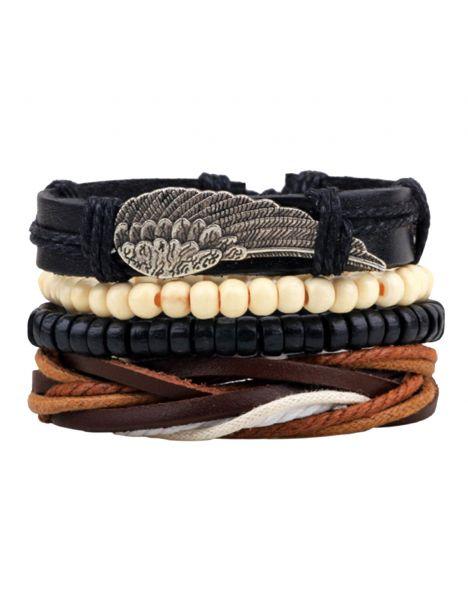 Bracelet Tribue Yakama Clj Charles Le Jeune Bracelets Homme