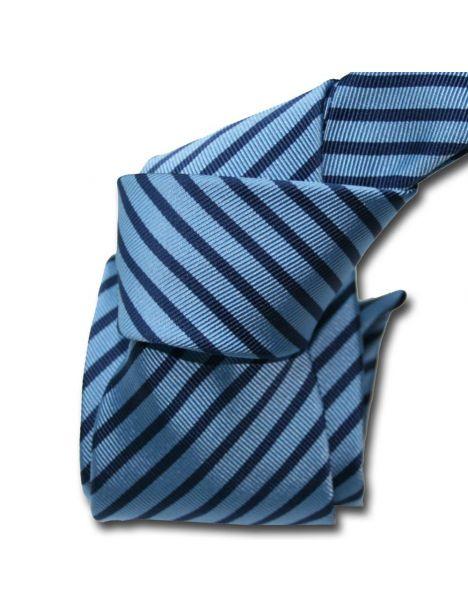 Cravate Classique Segni Disegni, Mogador, Brescia, Deux bleus Segni et Disegni Cravates
