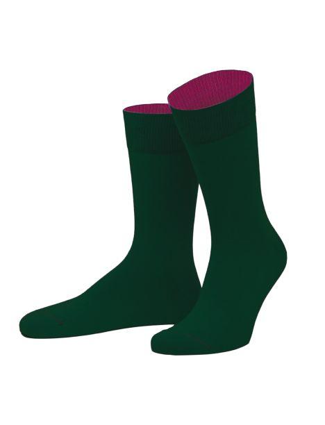 Chaussettes Forêt noire. vert bouteille et violet. Von Jungfield Von Jungfeld Chaussettes