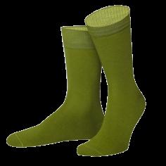 Chaussettes Yukon vert et jaune. Von Jungfield
