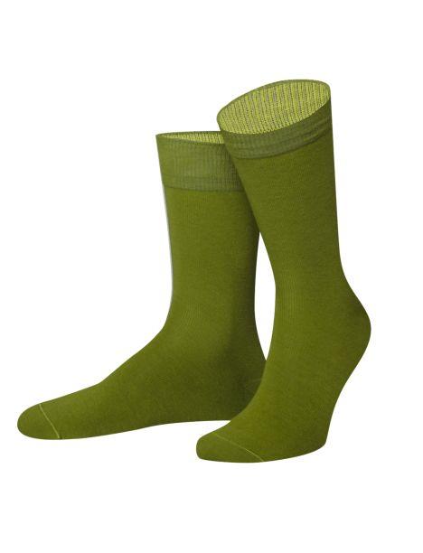 Chaussettes Yukon vert et jaune. Von Jungfield Von Jungfeld Chaussettes