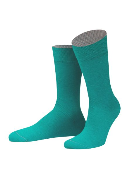 Chaussettes Virginia vert Turquoise et gris. Von Jungfield Von Jungfeld Chaussettes
