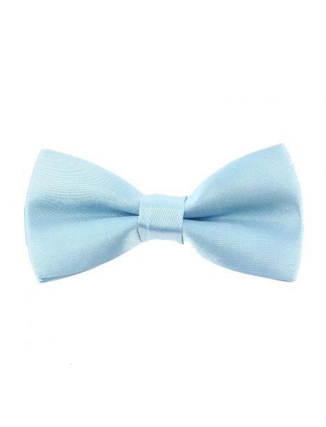 Noeud papillon enfant, bleu claire Clj Charles Le Jeune Noeud Papillon