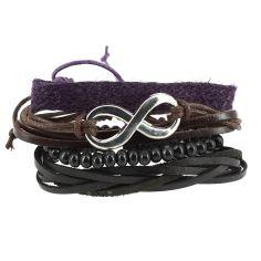 Bracelet Tribal Cherokee mauve