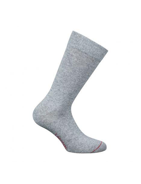 Mi-chaussette grise unie laine et cachemire, Labonal Labonal Chaussettes