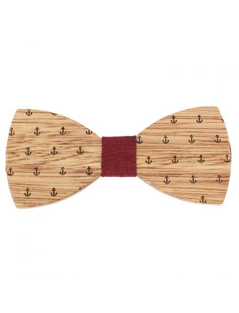Noeud papillon en bois, Capitaine Bordeaux. Tony & Paul. Tony & Paul Noeud Papillon
