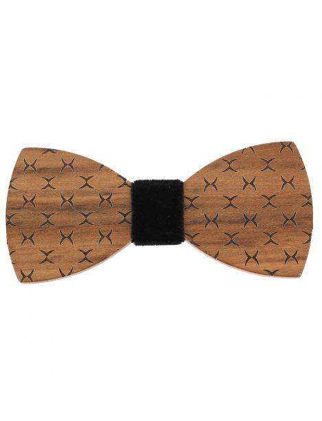 Noeud papillon en bois, Classico noir. Tony & Paul. Tony & Paul Noeud Papillon