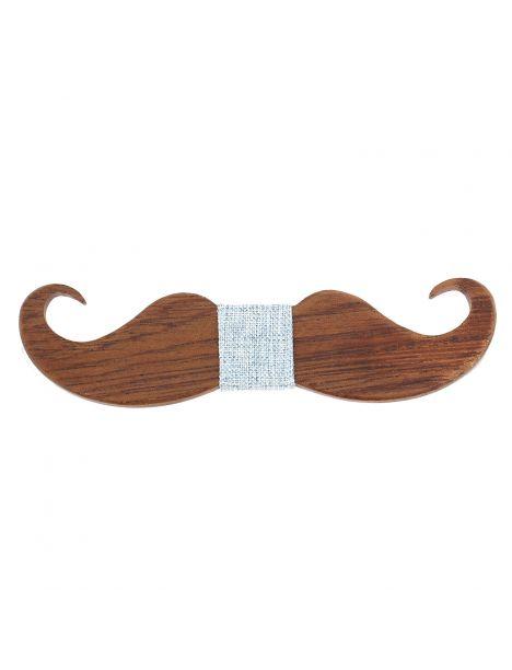 Noeud papillon en bois, Big Moustache Jeans. Tony & Paul. Tony & Paul Noeud Papillon