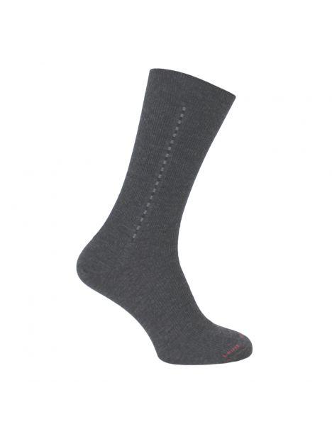 Mi chaussette, Laine majoritaire baguette, gris Labonal Chaussettes
