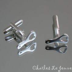 Bouton de Manchette CLJ Décapsuleur