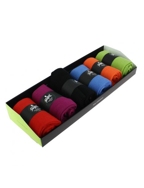 Semainier FARBEXPLOSION, 6 paires de chaussettes. Von Jungfield