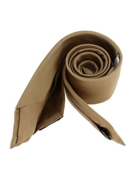 Cravate soie 6 plis, Duna, Faite à la main