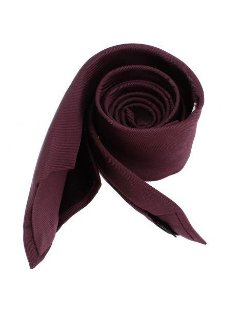Cravate soie 6 plis, Melanconia, Faite à la main
