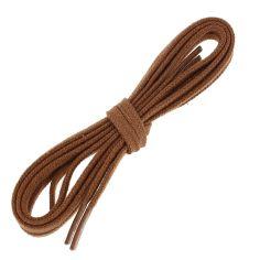 lacets plats 5mm coton, marron cuivre