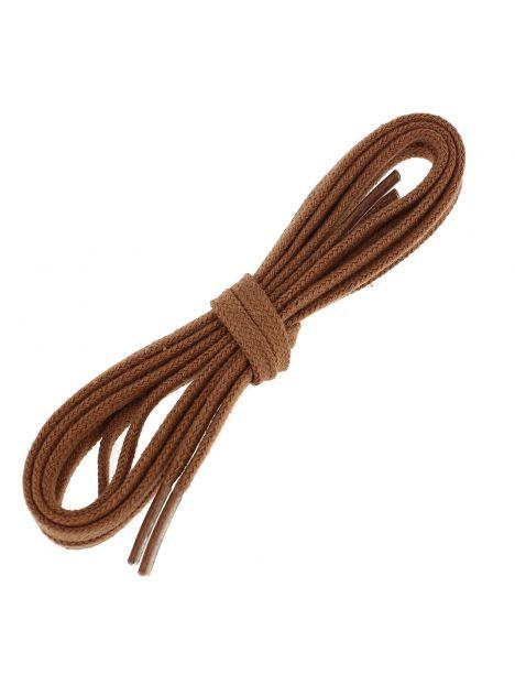 lacets plats coton couleur cuivre