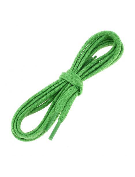 lacets plats coton couleur vert Pastourelle