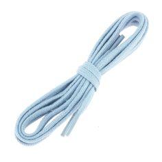lacets plats 5mm coton, bleu Ciel J
