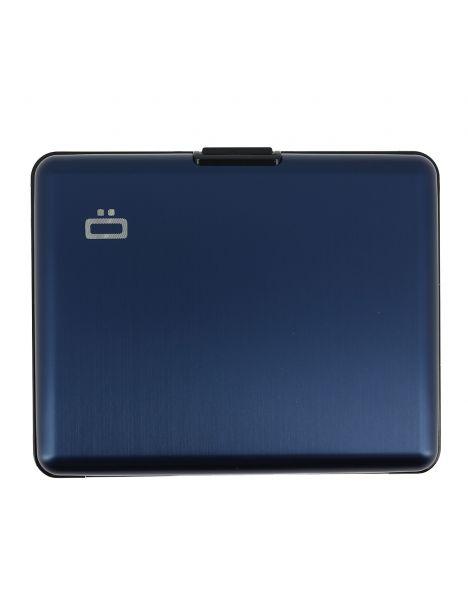 Portefeuille BIG STOCKHOLM, Bleu marine. Ogon Design.