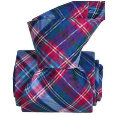 Cravate Classique Segni Disegni, Scotland, Carreaux