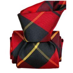 Cravate Classique Segni Disegni, Belfast, Carreaux
