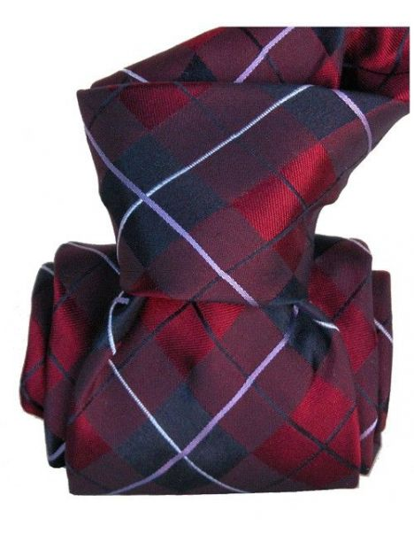 Cravate Classique Segni Disegni, Southampton, Carreaux Segni et Disegni Cravates