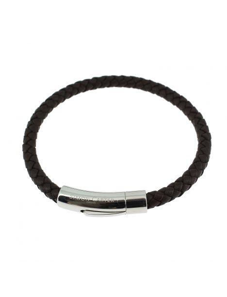 Bracelet Newquay marron, Simon Carter