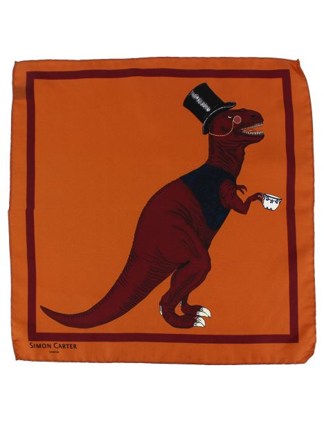 Pochette Simon Carter, T Rex orange