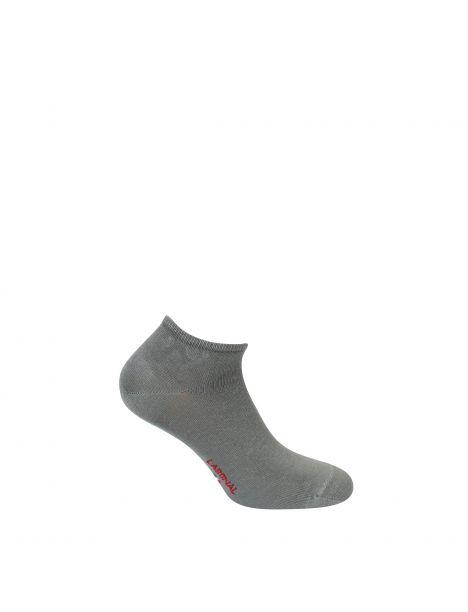 Mini socquettes unie Jersey Bambou gris Labonal Chaussettes