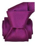 Cravate Segni Disegni LUXE, Faite main. Alba Prune Segni et Disegni Cravates