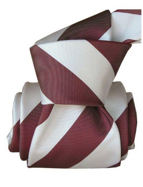 Cravate Segni Disegni LUXE, Faite main, Club Prune Segni et Disegni Cravates