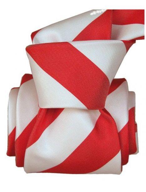 Cravate Segni Disegni LUXE, Faite main, Club Rouge Segni et Disegni Cravates
