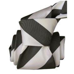 Cravate Segni Disegni LUXE, Faite main, Club Noir Segni et Disegni Cravates