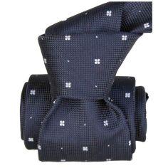 Cravate Segni Disegni LUXE, Faite main, Bolatte Bleu Marine