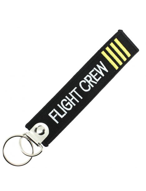 Porte clés FLIGHT CREW Noir