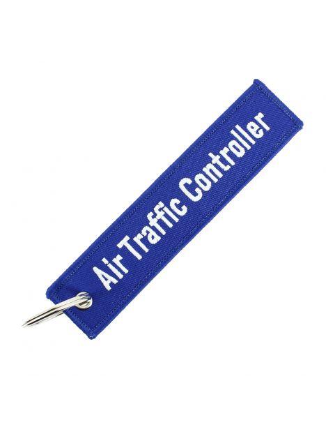 Porte clés AIR TRAFFIC CONTROLLER Bleu