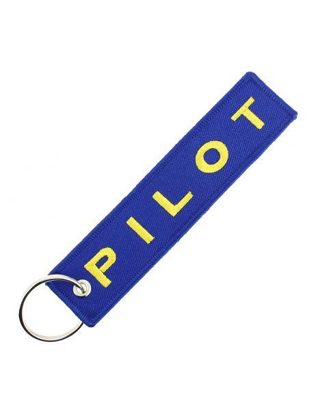 Porte clés PILOT Bleu