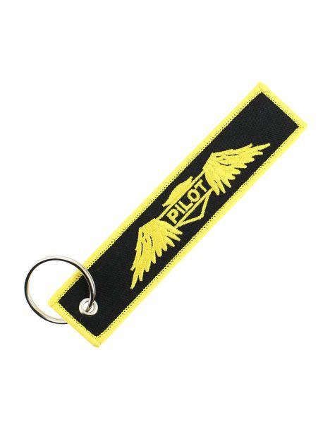 Porte clés PILOT WINGS Noir