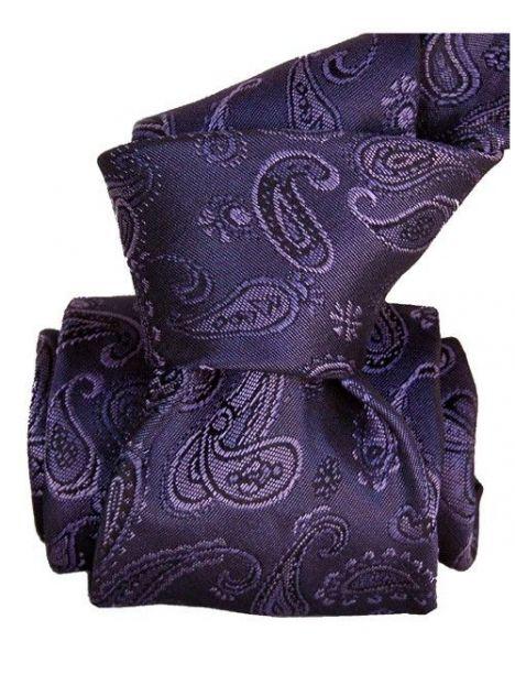 Cravate Segni Disegni LUXE, Faite main, Alexandrie Violet Segni et Disegni Cravates